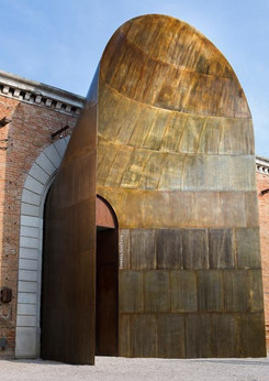 Cor-ten Entrance Venice biennale