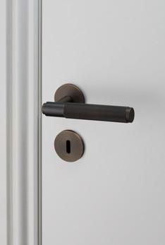Door lever handle Smoked Bronze
