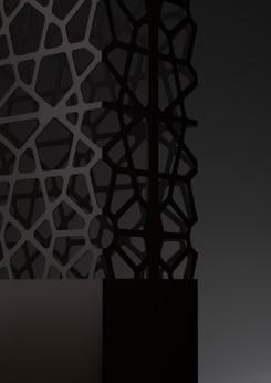 Dafne & Demetra stainless steel DeLabré B - Design Ludovica+Roberto Palomba