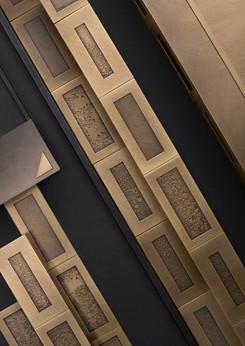 Cipher brass - Design Francesco Forcellini