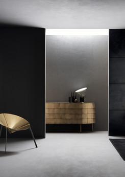 Chair: Pensando ad acapulco -  Design IvDesign / Cabinet: Yoroi Design Alessandro Masturzo