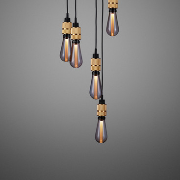 Hooked 6.0 Nude Brass Smoked Bulb