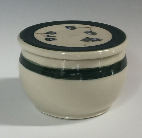 Shirley Odsather -French Butter Keeper -Wheel Thrown Porcelain