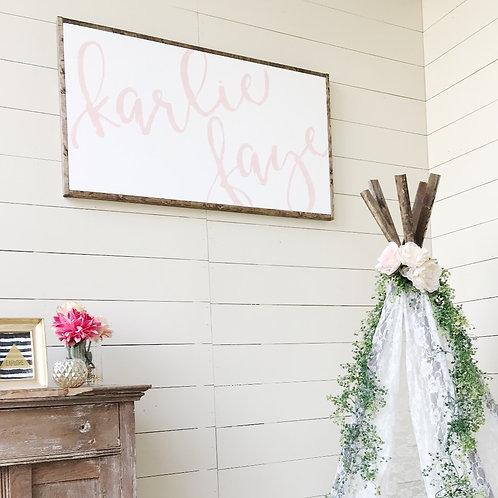 """The """"Karlie"""" Sign"""