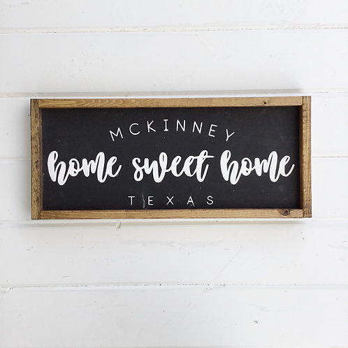 Personalize - Home Sweet Home