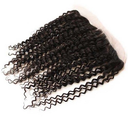 """Curly 13"""" x 4"""" Lace Frontal"""