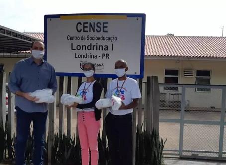 Presidente da Criai destaca doações de máscaras e EPIs para Unidades Socioeducativas