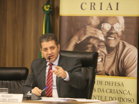 Presidente da Criai convoca membros para última reunião antes do recesso de julho