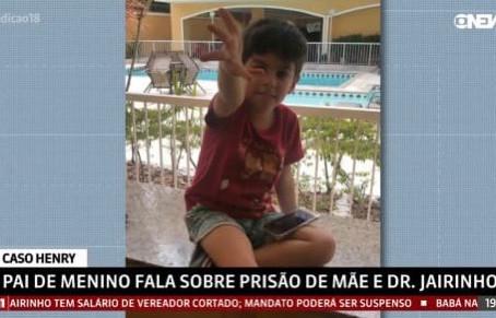 CASO HENRY - Presidente da Criai repudia morte do menino de quatro anos ocorrida no Rio de Janeiro