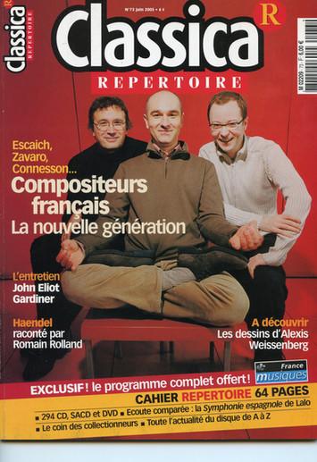 Couverture Classica - juin 2005