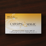 Catering Magic Business Cards