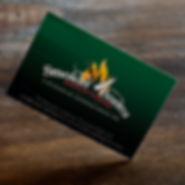 Smokin Bones Business Card Design