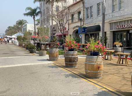 Downtown Ventura During COVID-19