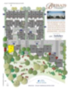 Brisa29 Townhome Plan 1 Site Map