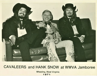 hank snow and country cavaleers 1971 (2)