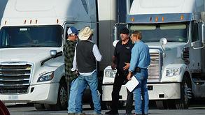 Olin Wallace, Mitch Daniel Truck Driver,