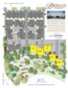 Brisa29 Townhome Plan 2 Site Map