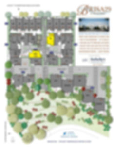 Brisa29 Townhome Plan 6 Site Plan