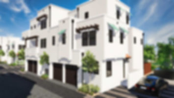 Brisa29 Townhome Plan 1 Exterior