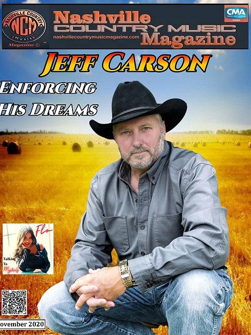 Jeff Carson November 2020