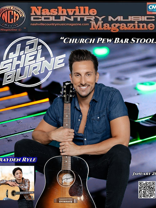 Nashville Country Music Magazine January 2021