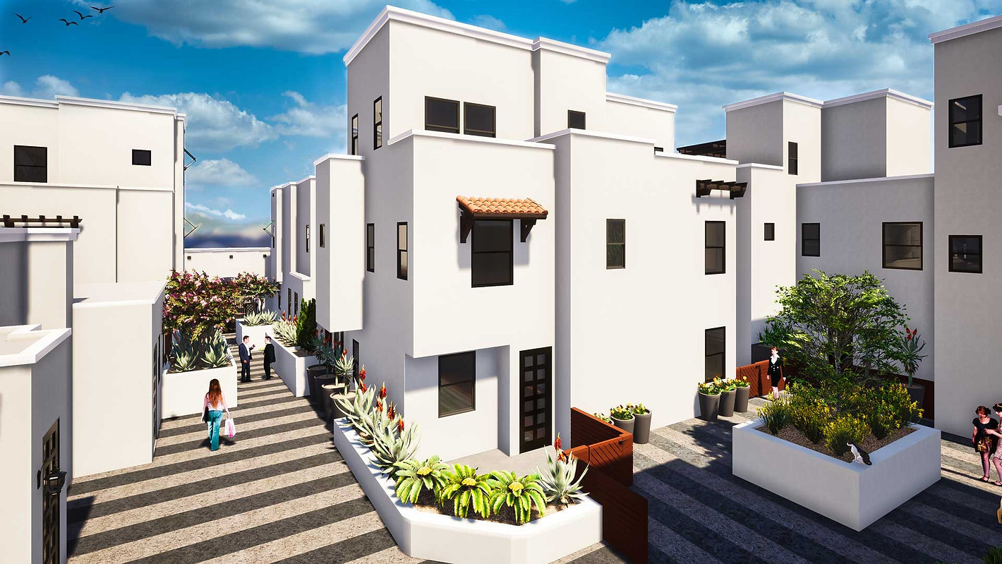 Brisa29 Townhome Plan 6 Exterior