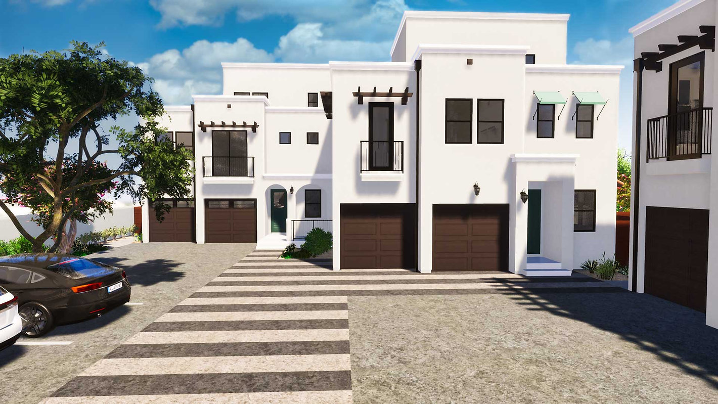 Brisa29 Townhome Plan 2 Exterior