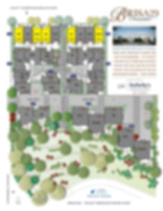 Brisa29 Townhome Plan 4 Site Plan