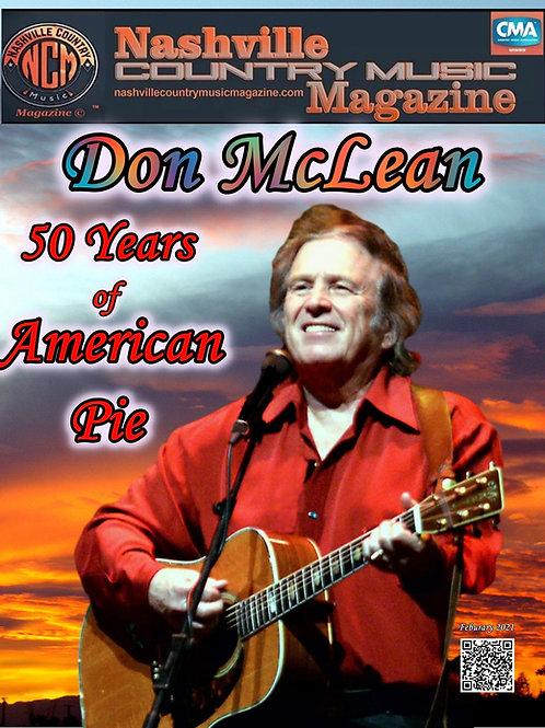 Don McLean 50 Years of American Pie