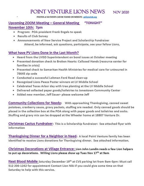 2020-11--POINT VENTURE LIONS NEWS1024_1.