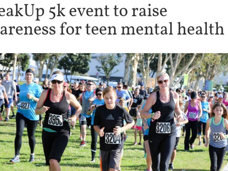 San Diego 2019: SpeakUp 5k event to raise awareness for teen mental health