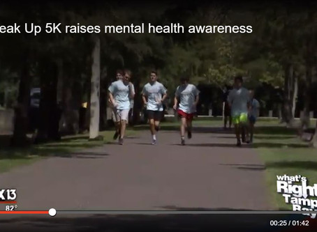 Speak Up 5K raises mental health awareness
