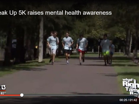 Speak Up 5K raises mental health awareness