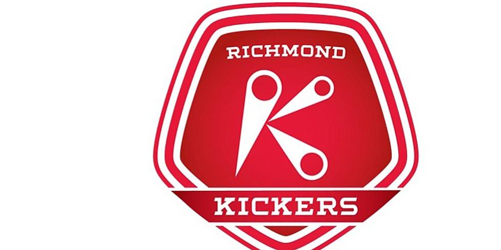 CKG night at Richmond Kickers stadium