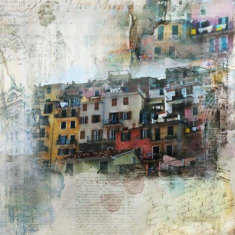 Cinque Terre abstract