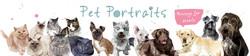 pet portraits slider