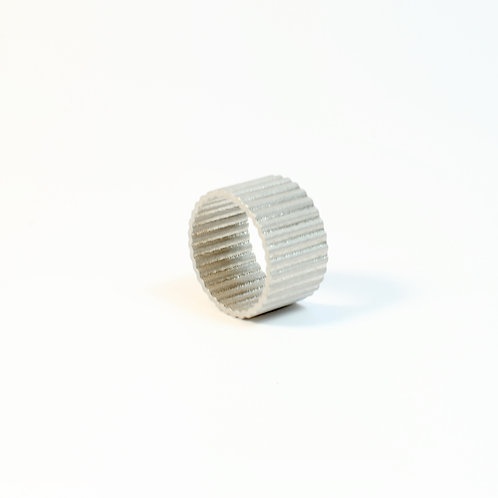 Textured ring by Diederick Van Hovell