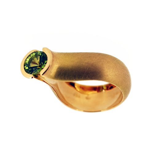 Drop ring Peridote