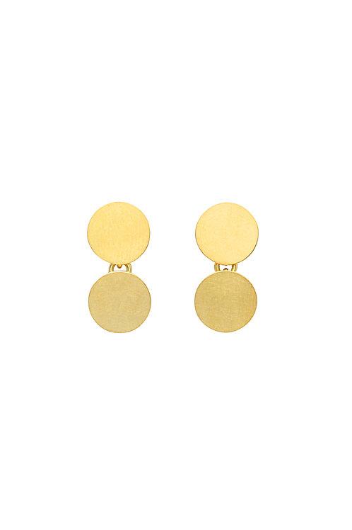 18krt yellow gold earrings