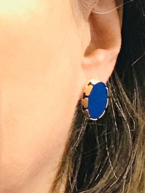 Lapis Lazuli Dentelle Earrings