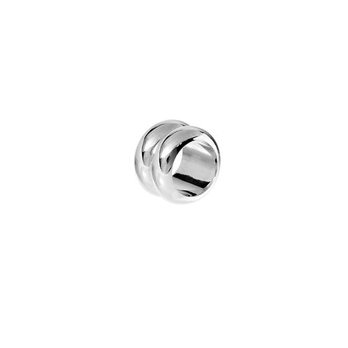 Breve Ring Silver