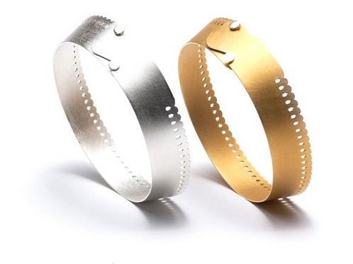 Arek Wolski silver bracelet