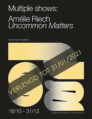 Affiche Amelie Riech verlengd breed copy