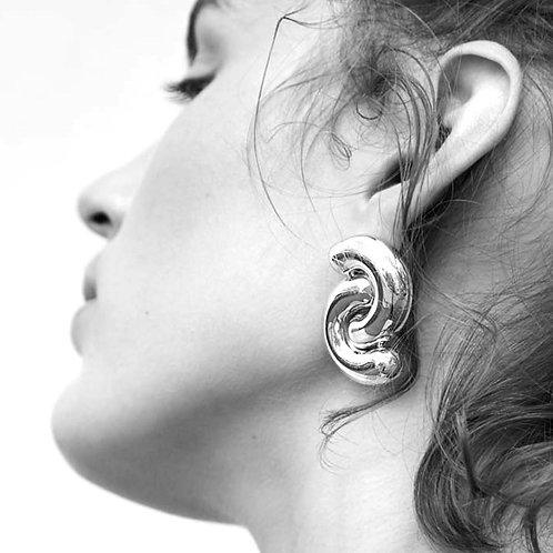 Tropos Earrings Silver