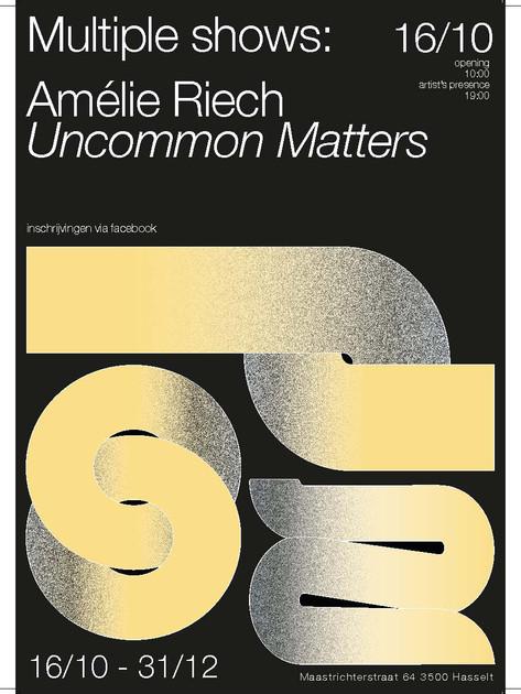 Affiche Amelie Riech