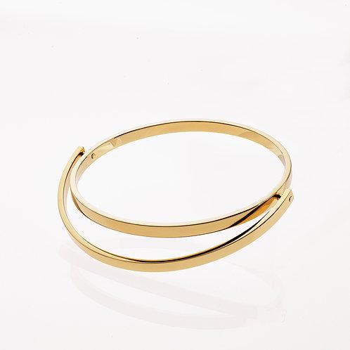 Circular Bangle Gold