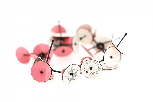 Majoral: White-Pink dubble