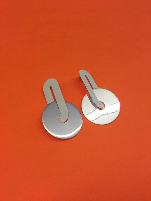 Drop Cymbal Earrings