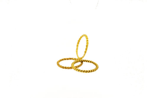 18krt gold ring minimal