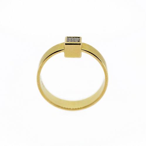 Mini cube ring